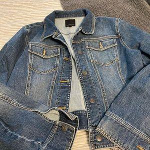 Limited Jean jacket sz L NWOT